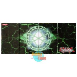 画像2: 英語版 プレイマット LC03 武藤 遊戯 & オレイカルコスの結界