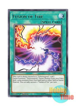 画像1: 英語版 SAST-EN057 Fusion of Fire フュージョン・オブ・ファイア (レア) 1st Edition