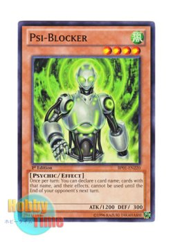 画像1: 英語版 BP01-EN220 Psi-Blocker サイキック・ブロッカー (ノーマル) 1st Edition