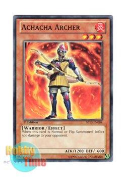 画像1: 英語版 SP13-EN004 Achacha Archer アチャチャアーチャー (ノーマル) 1st Edition