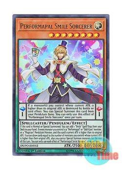 画像1: 英語版 DUPO-EN012 Performapal Smile Sorcerer EMスマイル・マジシャン (ウルトラレア) 1st Edition