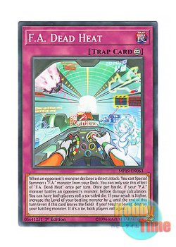 画像1: 英語版 MP19-EN063 F.A. Dead Heat F.A.デッド・ヒート (ノーマル) 1st Edition