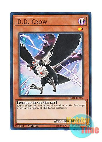 Ultra Rare 1st Edition DUDE-EN027 Crow D.D