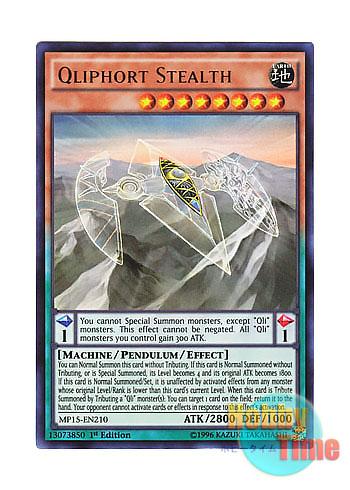 Apoqliphort Skybase Ultra Rare MP15-EN211 1st Edition